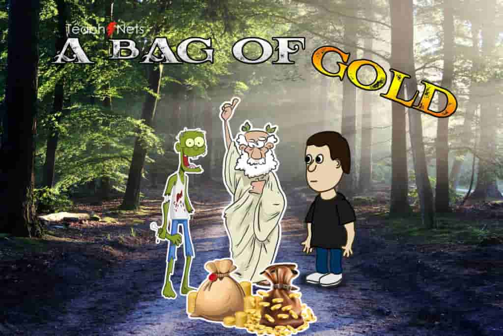 Bag Of Golden Coins Short Stories In English With Moral