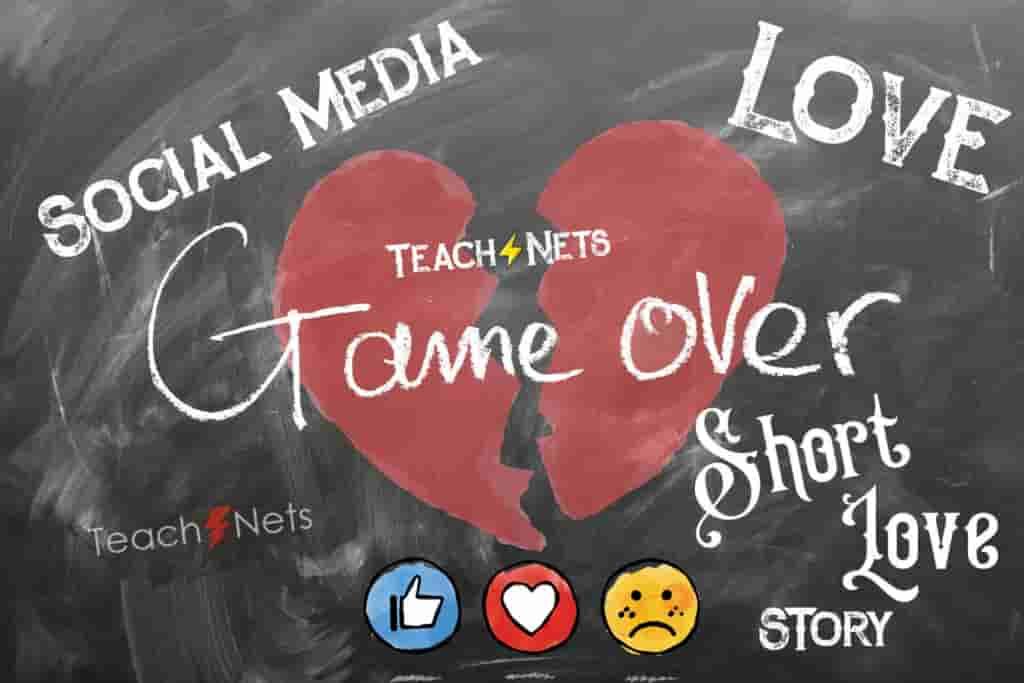 Love on Social Media - Short Sad Love Story