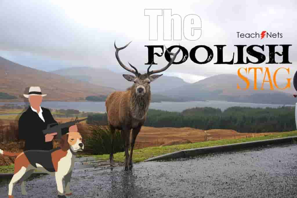 A-Foolish-Stag-Story-Moral-Stories-For-Kids-Students