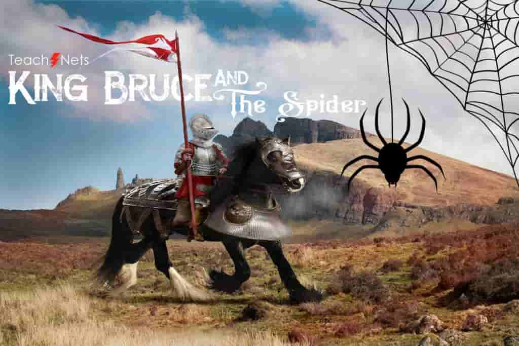 The-King-and-The-Spider-Motivational-Stories-Moral-Stories