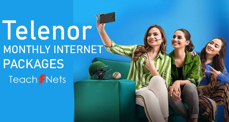 Telenor Monthly Internet Package - Telenor Net Package
