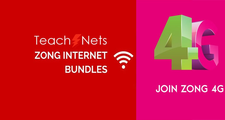 Zong Monthly Internet Package Complete Detail 2020