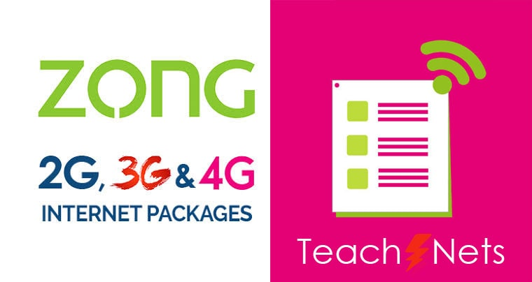 Zong Net Pkg Weekly Complete Detail About All Bundles