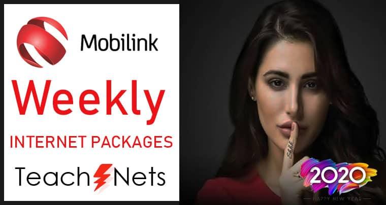 Mobilink Weekly Internet Package | Jazz Internet Packages