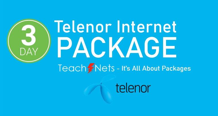 Telenor Internet Package 3 Days | Telenor Net pkg