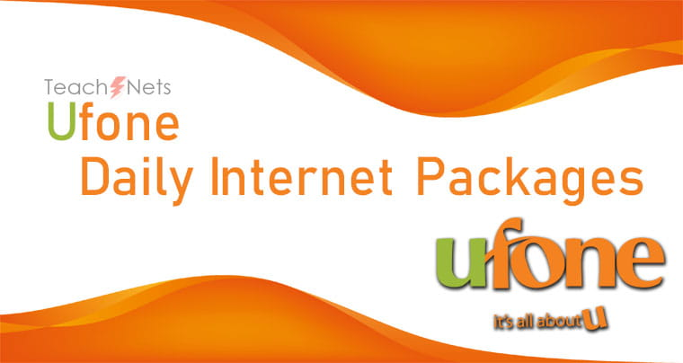 Ufone Net Packages Daily | Ufone Net Pkg
