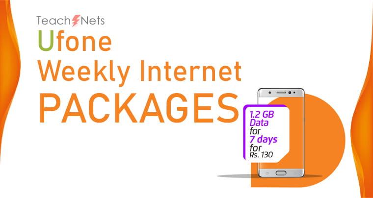 Ufone Weekly Net Package | Ufone Net pkg