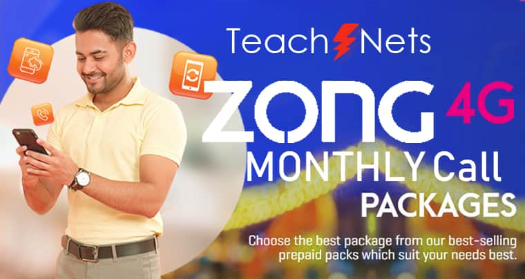 Zong Monthly Call Package | Zong Call Pkg