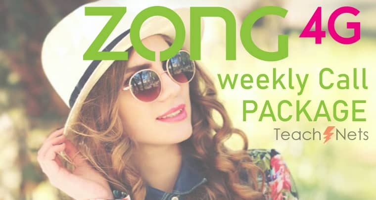 Zong Weekly Call Package | Zong Call Package Code