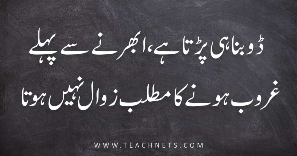 Best Quotes In Urdu About Life | Urdu Quotes