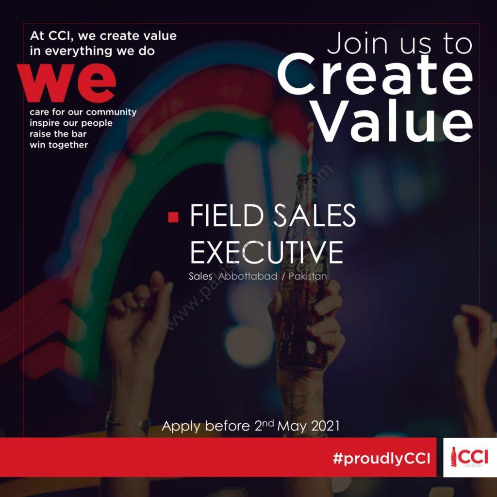 Coca Cola Icecek Pakistan Jobs Field Sales Executive