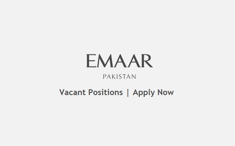 Emaar Pakistan Jobs April 2021