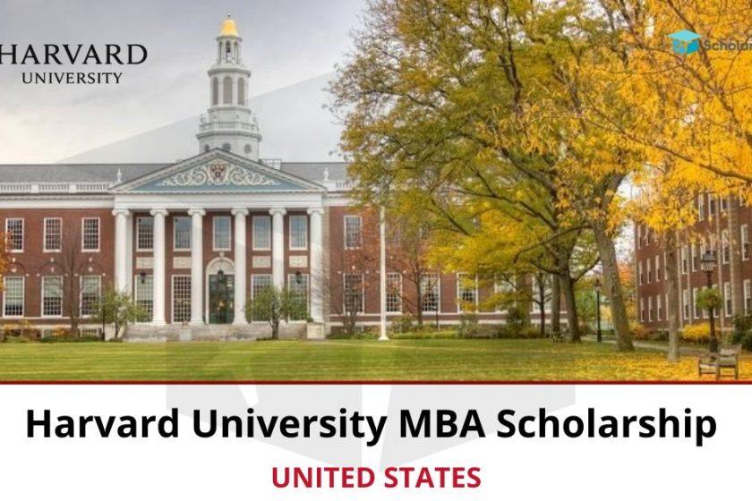 Harvard University MBA Scholarship Program