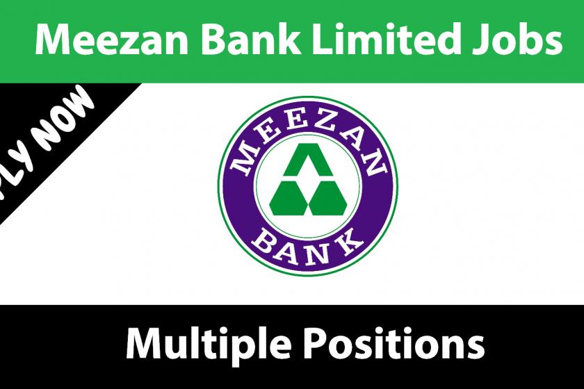 Meezan Bank Jobs April 2021