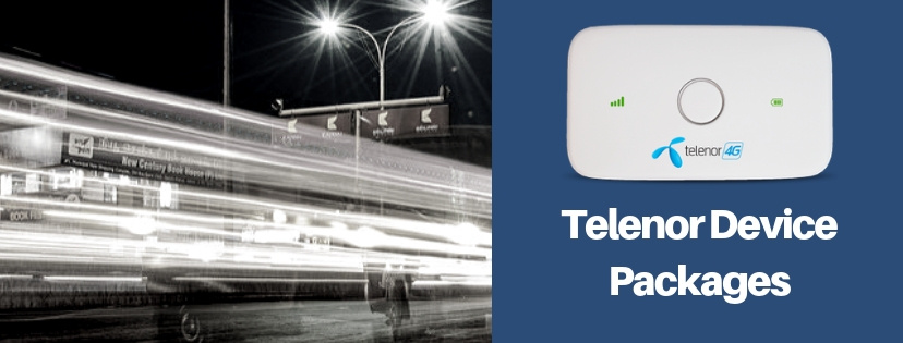 Telenor 3G/4G Internet Device Packages: Wingles, Dongles & MiFi (2021)