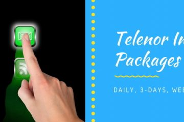 Telenor Internet Packages 2021: Daily, Weekly & Monthly