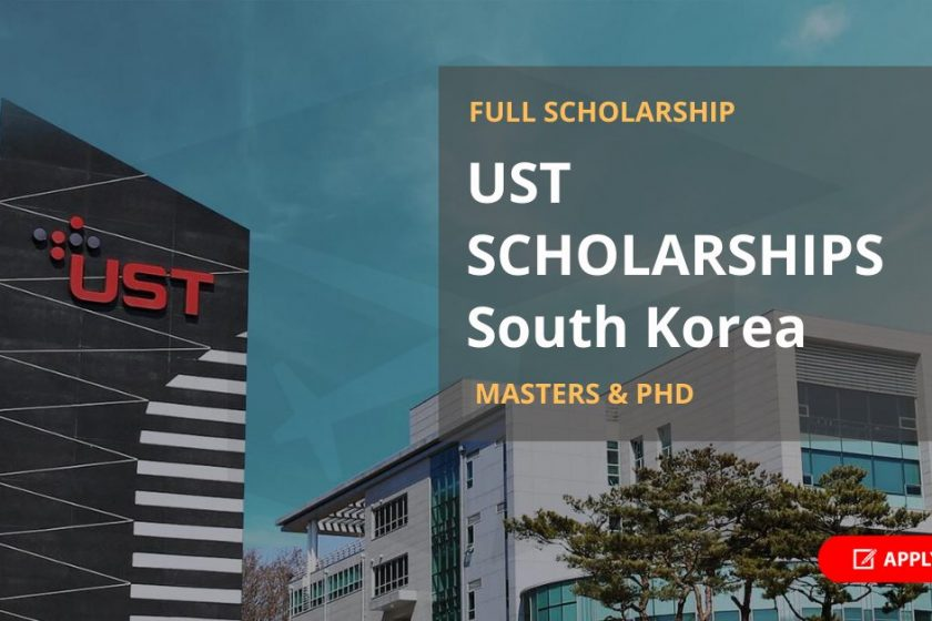 UST Scholarships 2021 in South Korea [Full Scholarship]