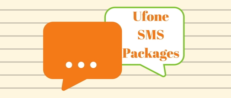 Ufone SMS Packages 2021: Daily, Weekly and Monthly