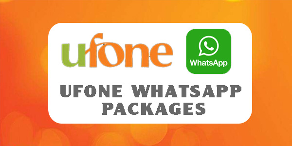 Ufone WhatsApp Packages 2021: Daily, Weekly & Monthly