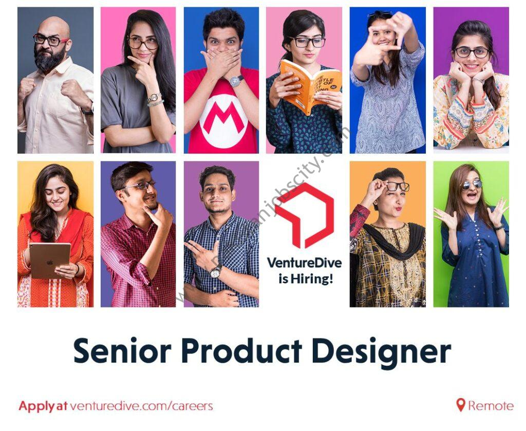 Venture Dive Jobs Senior Product Designer