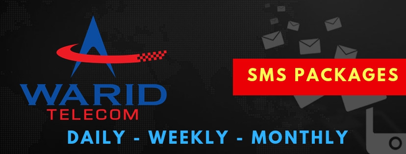 Warid SMS Packages 2021: Daily, Weekly & Monthly