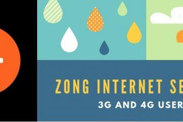 Zong Internet Settings