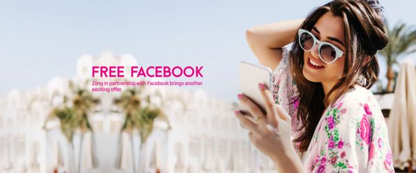 Zong Free Facebook for Postpaid and Prepaid