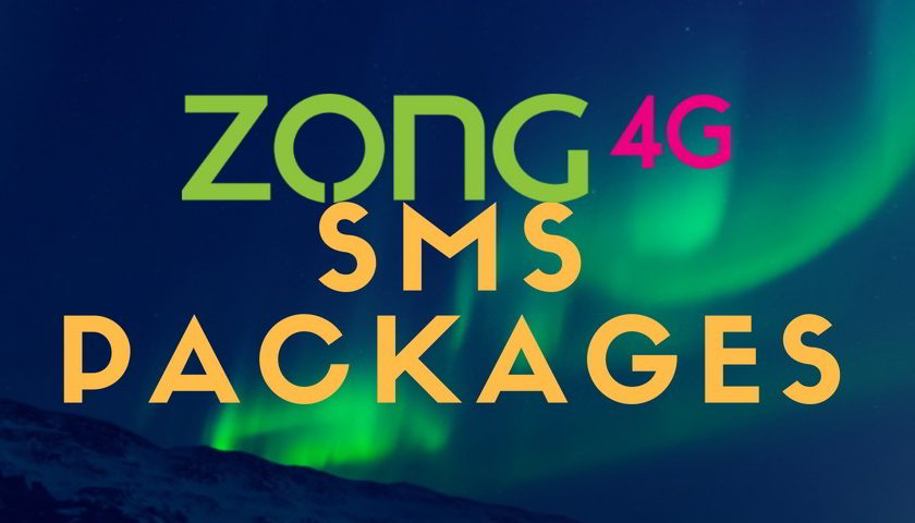 Zong SMS Packages 2021: Daily, Weekly and Monthly