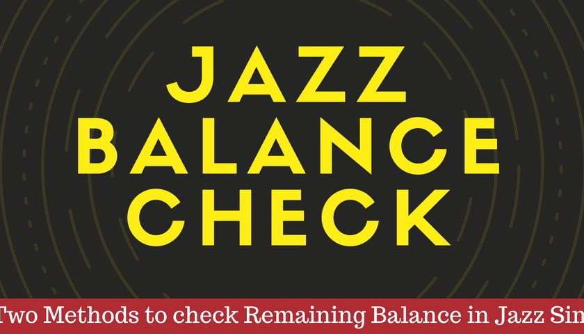 jazz balance check code