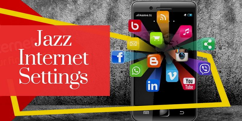 Jazz 3G/4G Internet and MMS configurations