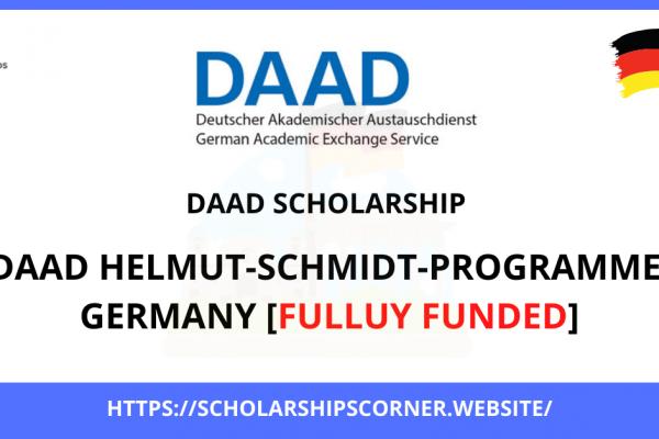 DAAD Helmut Schmidt Programme