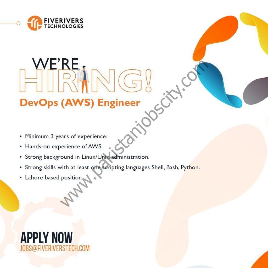 FiveRivers Technologies Jobs May 2021
