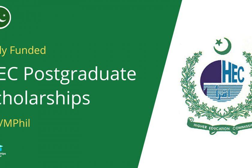 HEC Postgraduate Scholarships