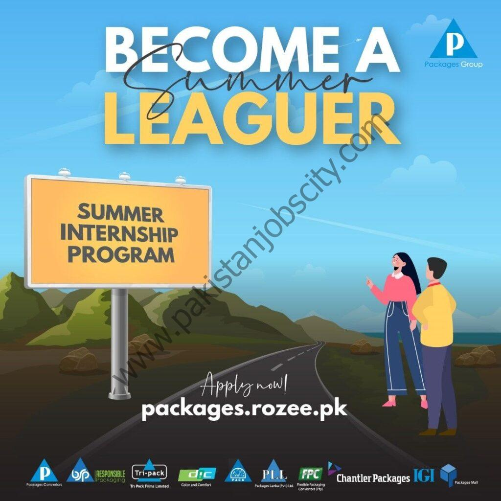 Packages Group Summer Internship Program 2021