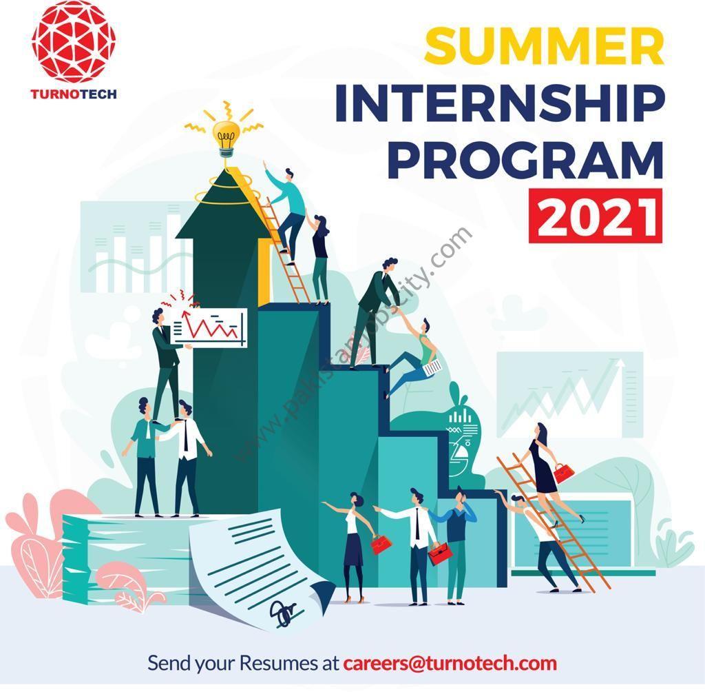 Turnotech Inc Summer Internship Program 2021