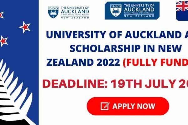 University of Auckland ADB Scholarship in New Zealand 2022 | Fully Funded