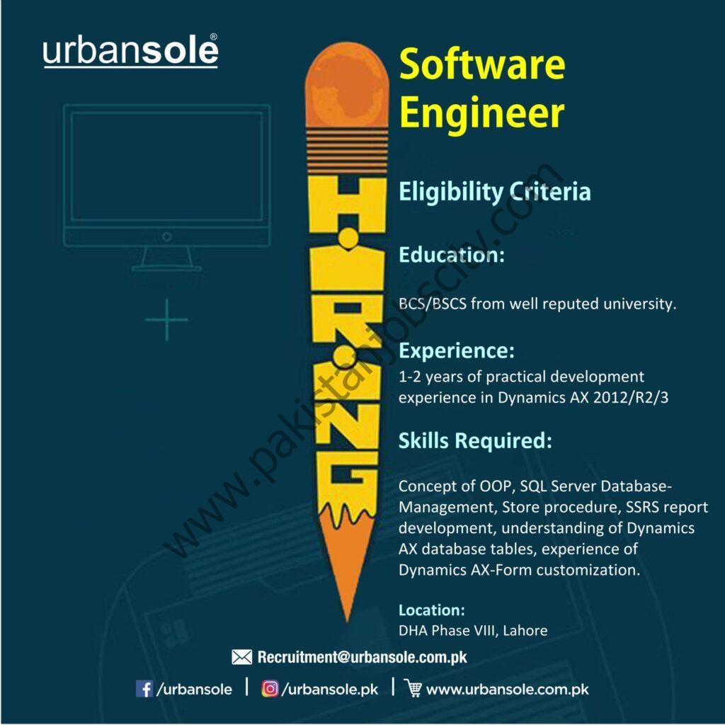 Urbansole Jobs Software Engineer