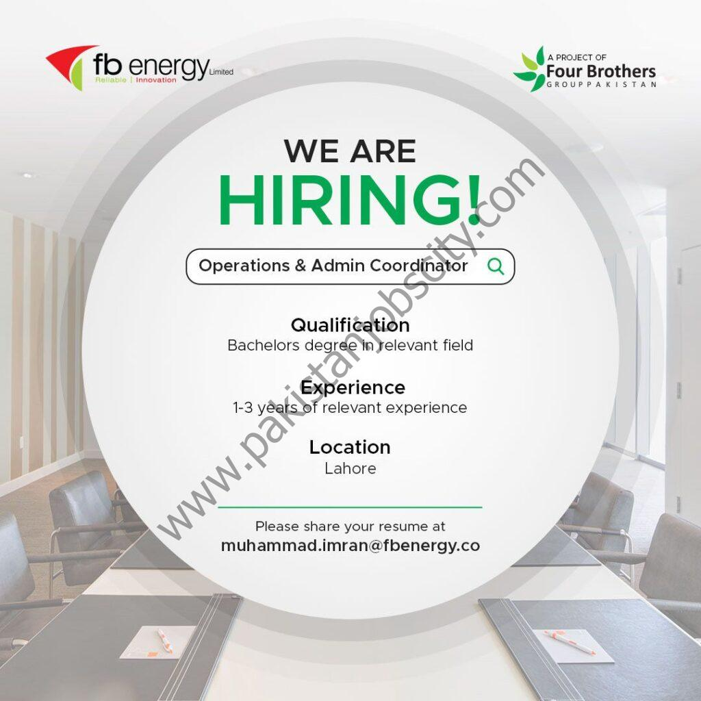 FB Energy Jobs Operations & Admin Coordinator